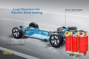 Нагрузочный реактор для испытания различных эксплуатационных параметров моторных приводов электромобилей