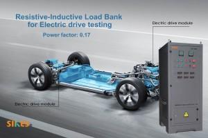 Банк резистивно-индуктивной нагрузки для тестирования различных эксплуатационных параметров электроприводов