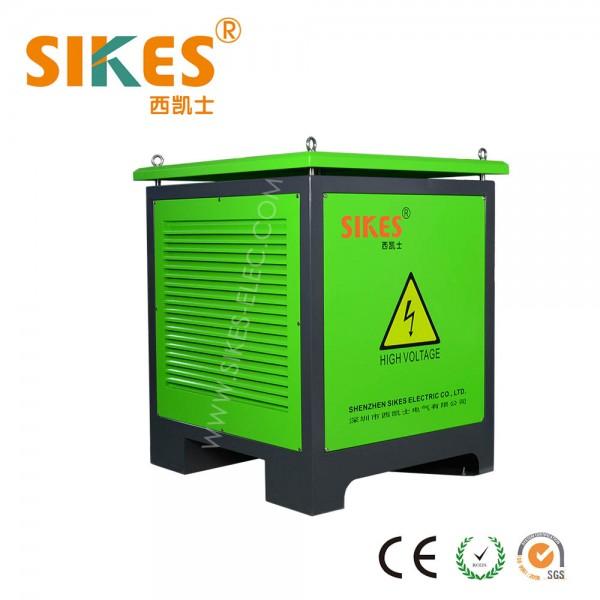 Шкаф тормозного резистора, 100kW, IP54 ,для портового крана ,промышленного лифта