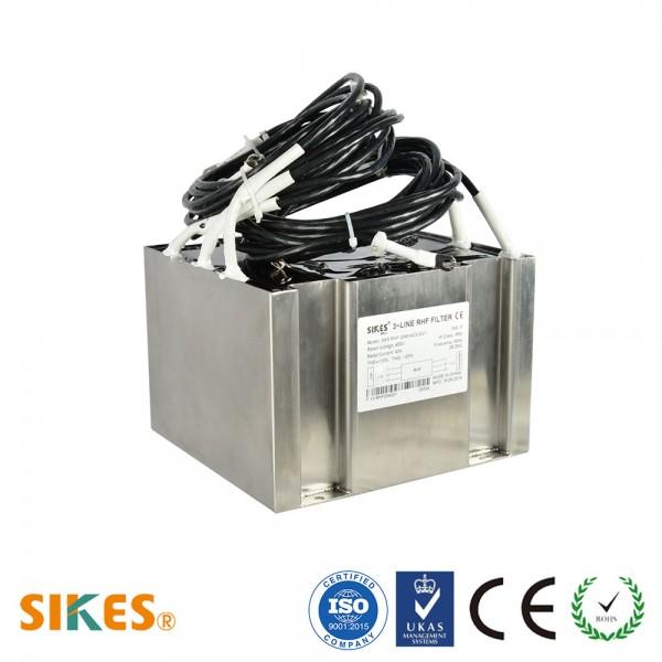фильтр гармоник для железнодорожного и транспорта,THDi<10%,Номинальный ток 40A, ,IP65